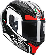 AGV Corsa CIRCUIT Full-Face Helmet (Black/White/Red)