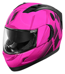 ICON Alliance GT PRIMARY Full-Face Motorcycle Helmet (Pink/Black)