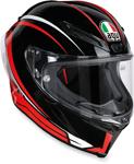 AGV Corsa R Full-Face Motorcycle Helmet (Arrabbiata Gloss Black/Red)