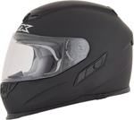AFX FX105 Full-Face Motorcycle Helmet (Flat Black)