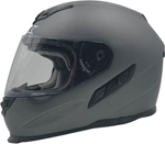 AFX FX105 Full-Face Motorcycle Helmet (Frost Grey)