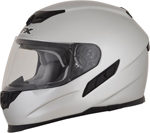 AFX FX105 Full-Face Motorcycle Helmet (Silver)