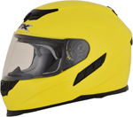 AFX FX105 Full-Face Motorcycle Helmet (Hi-Vis Yellow)