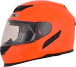 AFX FX105 Full-Face Motorcycle Helmet (Safety Orange)