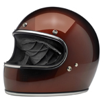 BILTWELL INC GRINGO Retro Full-Face Motorcycle Helmet (Bourbon Metallic)