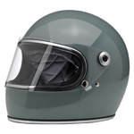 BILTWELL INC GRINGO S Retro Full-Face Motorcycle Helmet (Gloss Agave)