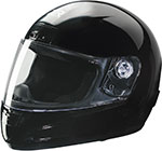 Z1R STRIKE Kids Youth Full-Face Motorcycle Helmet (Black)