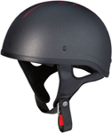 Z1R Pinstripe CC Beanie Half Helmet (Black)