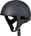 Z1R Speed Flame CC Beanie Half Helmet (Black)