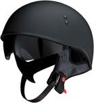 Z1R VAGRANT Half Helmet w/ Dropdown Sun Visor (Flat Black)