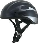 AFX FX200 BLADE Slick Beanie-Style Motorcycle Half Helmet (Gloss Black)