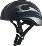 AFX FX200 BLADE Slick Beanie-Style Motorcycle Half Helmet (Flat Black)