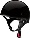 Z1R CC Beanie Motorcycle Half-Helmet (Black)