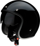 Z1R SATURN SV Open-Face Helmet w/ Dropdown Sun Visor (Gloss Black)