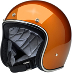 Biltwell Inc Bonanza Retro Open-Face Helmet (Gloss Copper)