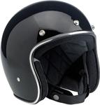 BILTWELL BONANZA Retro Open-Face Helmet (Gloss Black)