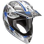 AGV MT-X Evolution Motocross Helmet (Blue)