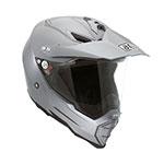 AGV AX-8 Dual Evo Mono Dualsport Helmet (Gray)