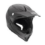AGV AX-8 Evolution Mono Motocross Helmet (Black)
