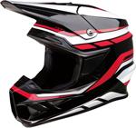 Z1R F.I. Flank MIPS Off-Road Helmet (Black/White/Red)