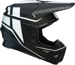 Moose Racing MX Off-Road F.I. Session MIPS Helmet (Black/White)