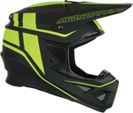 Moose Racing MX Off-Road F.I. Session MIPS Helmet (Black/Hi-Viz Yellow)