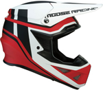 Moose Racing MX Off-Road F.I. Session MIPS Helmet (Red/White/Black)