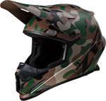 Z1R RISE Camouflage Offroad Helmet (Woodland)