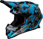 Z1R RISE Camouflage Offroad Helmet (Blue)