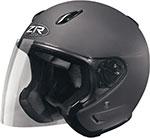 Z1R Ace Open Face Motorcycle Helmet (Flat Black)