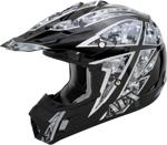 AFX FX17 URBAN Camo Motocross/Offroad/ATV Helmet (Black)