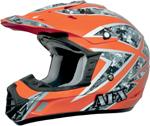 AFX FX17 URBAN Camo Motocross/Offroad/ATV Helmet (Safety Orange)