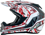 AFX FX19 VIBE Motocross/Offroad/ATV Helmet (Red)