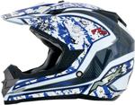 AFX FX19 VIBE Motocross/Offroad/ATV Helmet (Blue)