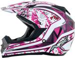 AFX FX19 VIBE Motocross/Offroad/ATV Helmet (Fuchsia)