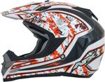 AFX FX19 VIBE Motocross/Offroad/ATV Helmet (Orange)