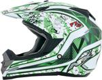 AFX FX19 VIBE Motocross/Offroad/ATV Helmet (Green)