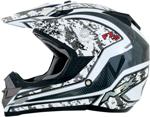 AFX FX19 VIBE Motocross/Offroad/ATV Helmet (Silver)