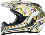 AFX FX19 VIBE Motocross/Offroad/ATV Helmet (Yellow)