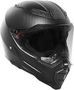AGV AX-8 EVO NAKED Full-Face Helmet (Carbon Fiber)