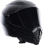 AGV AX-8 EVO Naked FURY Carbon Fiber Full-Face Motorcycle Helmet (Black)