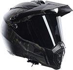 AGV AX-8 Dual Sport Evo GRUNGE Full-Face Motorcycle Helmet (Matte Black)