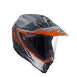 AGV AX-8 Dual Sport Evo KARAKUM Full-Face Motorcycle Helmet (Matte Camo/Orange)