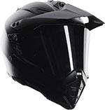 AGV AX-8 Dual Sport Evo Carbon Fiber Full-Face Motorcycle Helmet (Flat Carbon)