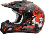 AFX FX17 ZOMBIE Motocross/Offroad/ATV Helmet (Black)
