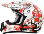 AFX FX17 ZOMBIE Motocross/Offroad/ATV Helmet (Pearl White)