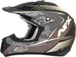 AFX FX17Y FACTOR Kids Motocross/Offroad/ATV Helmet (Frost Grey/White)