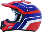 AFX FX17 VINTAGE HONDA Motocross/Offroad/ATV Helmet (Red)