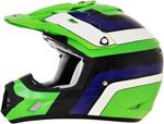 AFX FX17 VINTAGE KAWASAKI Motocross/Offroad/ATV Helmet (Green)