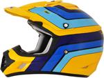AFX FX17 VINTAGE SUZUKI Motocross/Offroad/ATV Helmet (Yellow)